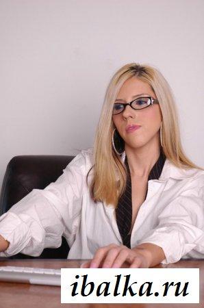 Классное обнажение от страстной секретарши