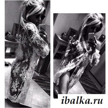 Эротичная Лиза Кутузова с красивой грудью