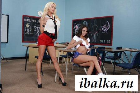Ее первая сексуальная учительница
