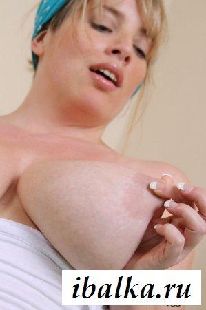 Мощные огромные груди