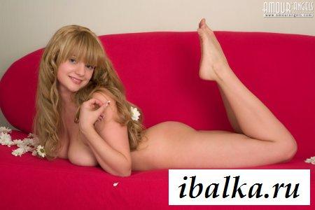 Волосатая русская девица с мягкими дойками