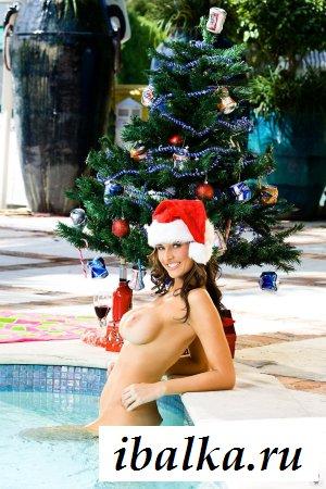 Снегурка залезла голая в мой бассейн