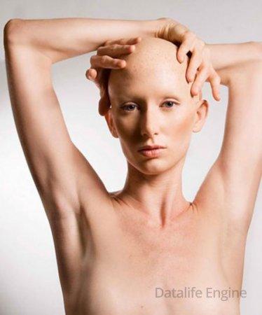 Эротика от голых лысых девушек