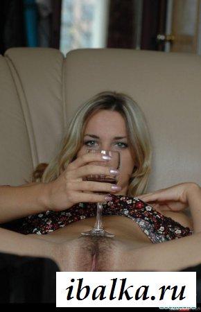 Нежная писька пьяной девушки