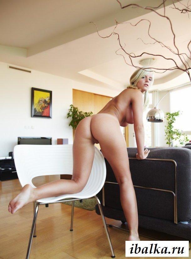 Раздетая скандинавская девушка с торчащими сосками (20 фото эротики)